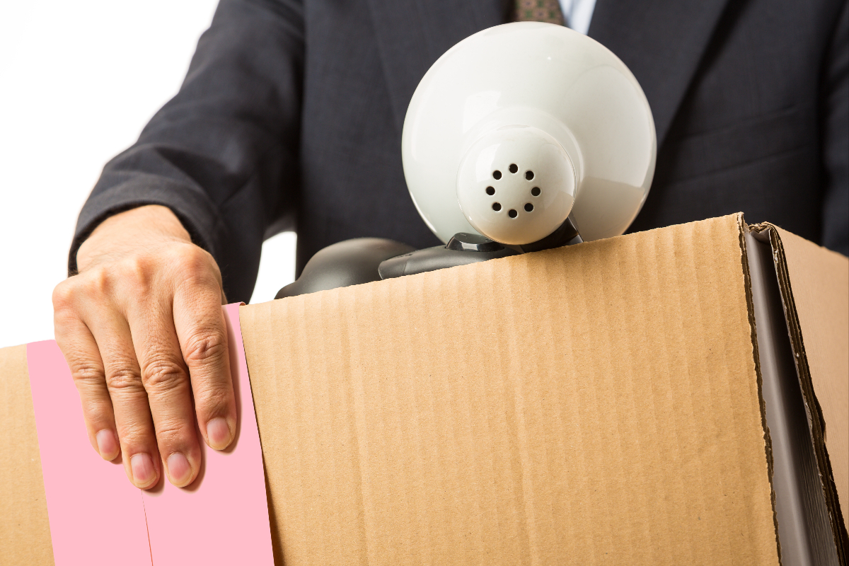 corporate downsizing Corporate downsizing serves as a way for a company to maintain profitability levels, but the action often causes negative effects within the workplace.